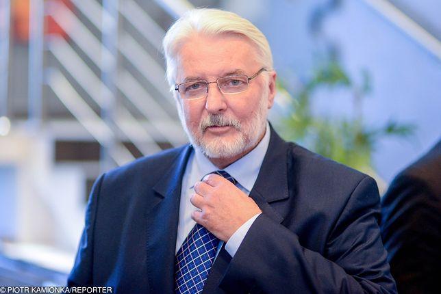 Witold Waszczykowski zgłasza się na ochotnika do pracy w szkole