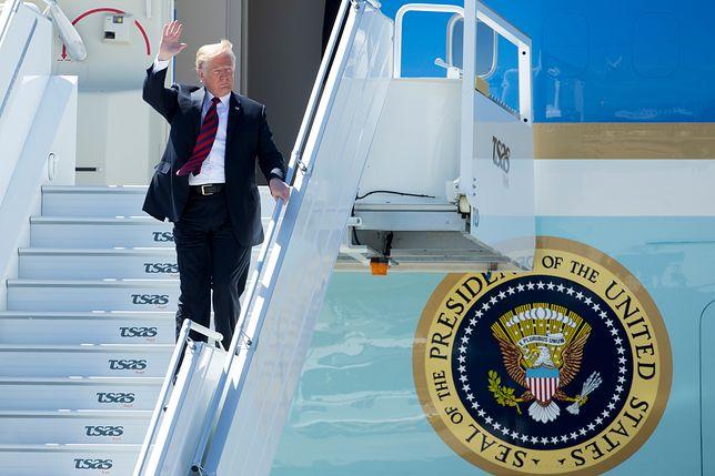 Donald Trump udał się do Singapuru swoim Air Force One