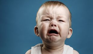 Dziecko płacze