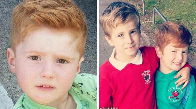 3-letni Noah był wyśmiewany przez inne dzieci z powodu swoich rudych włosów