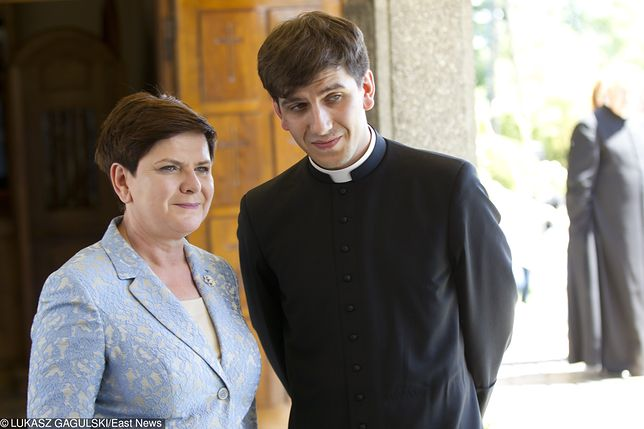 Syn byłej premier Tymoteusz Szydło jest księdzem