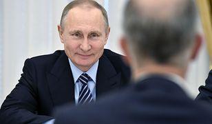 Putin zadowolony z nowej limuzyny