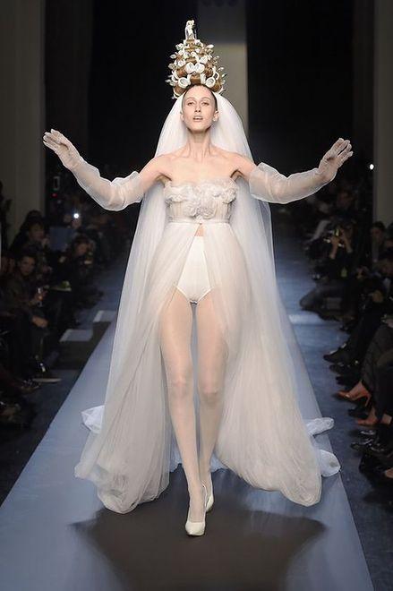 Jean Paul Gaultier - kolekcja haute couture wiosna lato 2015