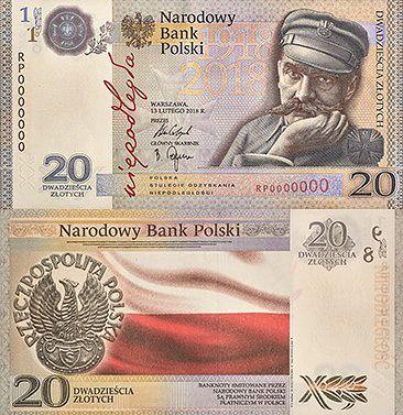 NBP wypuści nowy banknot kolekcjonerski. Znamy wzór