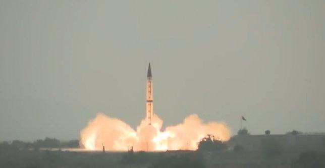 Pakistan odpalił rakietę. To broń nowej generacji