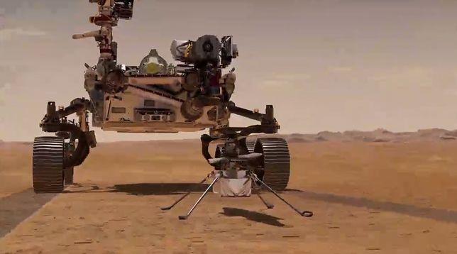 NASA: helikopter Ingenuity i łazik Perseverance