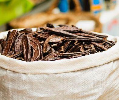 Karob można wykorzystać w kuchni zamiast kakao.