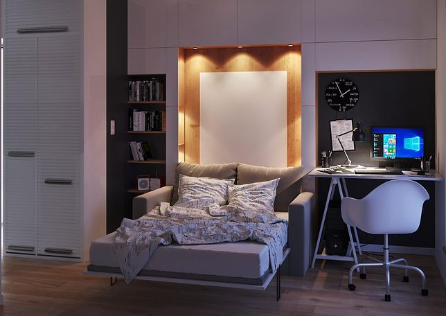 Odpowiednie meble to sposób na więcej miejsca w mieszkaniu