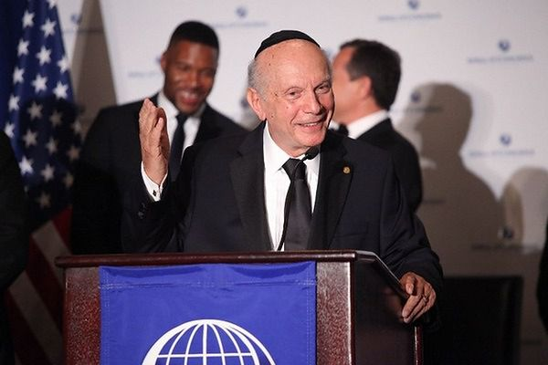 Rabin Arthur Schneier laureatem Nagrody Orła Jana Karskiego