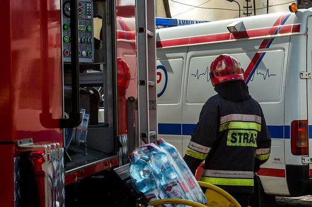 Mazowieckie. Strażacy w święta przeprowadzali także interwencje medyczne [zdj. ilustracyjne]