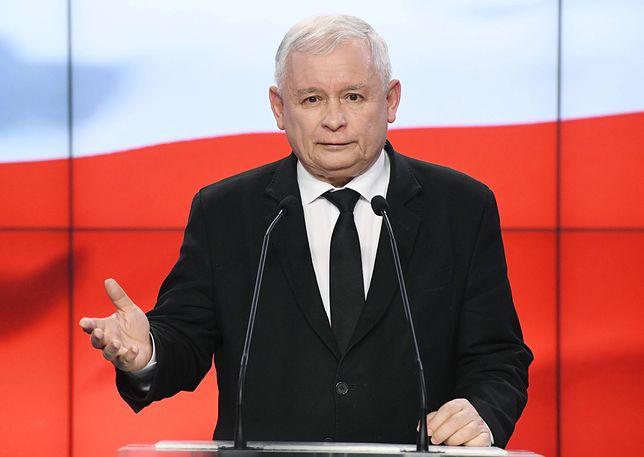 Jarosław Kaczyński ma coraz słabsze notowania w swojej partii