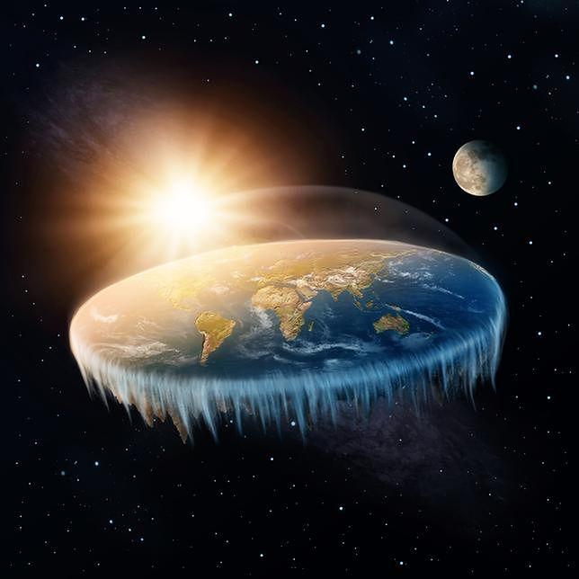 To nie żart: zwolennicy teorii o płaskiej Ziemi istnieją