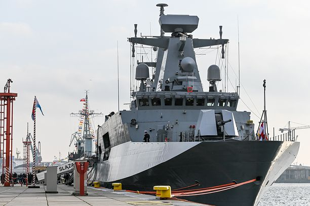 Armata okrętu ORP Ślązak wymaga napraw