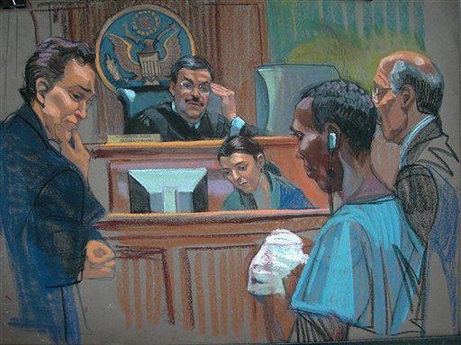Somalijski pirat płakał przed sądem