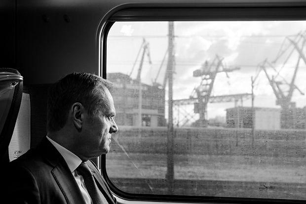 Zdjęcie przedstawiające Tuska zostało nagrodzone w konkursie Grand Press Photo 2018