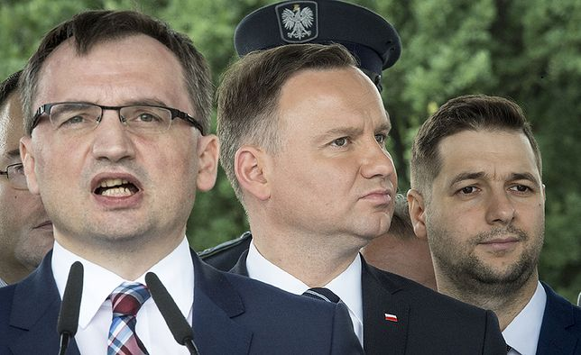 Andrzej Duda będzie musiał dalej współpracować ze Zbigniewem Ziobro.