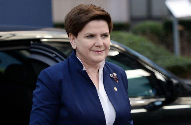 Beata Szydło przed szczytem ws. Wielkiej Brytanii
