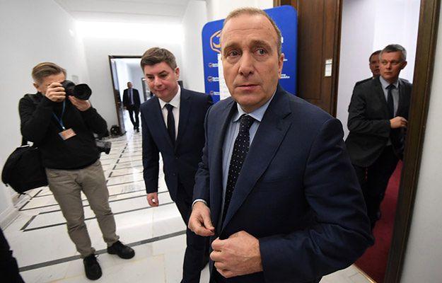 Grzegorz Schetyna: jeżeli ktoś straszy prokuratorem, to znaczy że jest słaby