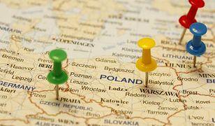 Dwie rzeki dzielą Polskę na biedną i bogatą