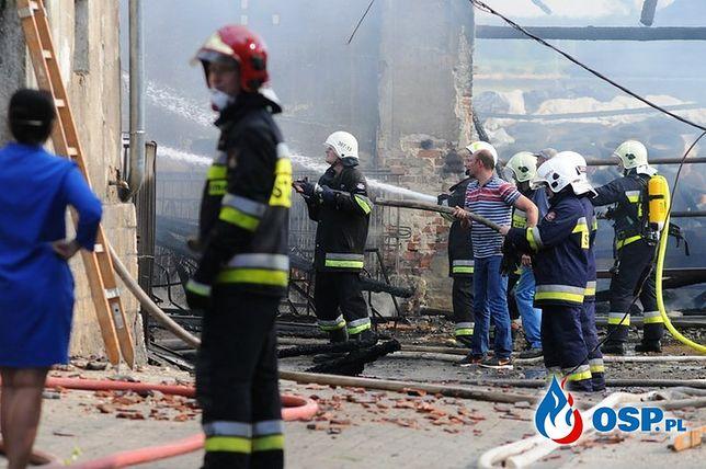 Chróścina Opolska: pożar gospodarstwa. Spłonęły krowy