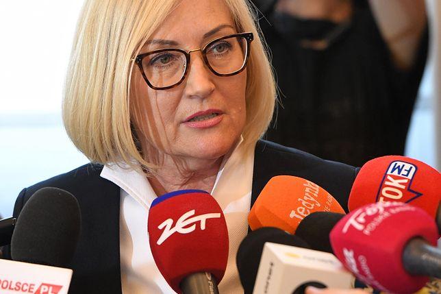 Joanna Kopcińska zapowiedziała dialog z mieszkańcami Baranowa ws. budowy Centralnego Portu Komunikacyjnego