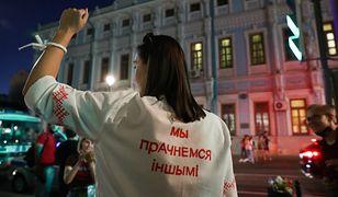 """""""Teraz jest najlepszy moment, żeby coś zmienić"""". Białorusinka Julia Aleksiejewa mieszka w Polsce, ale trzyma kciuki za swój naród"""