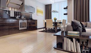 Oświetlenie w kuchni połączonej z salonem – aranżacje