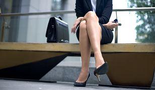 Kobieta zajęta karierą