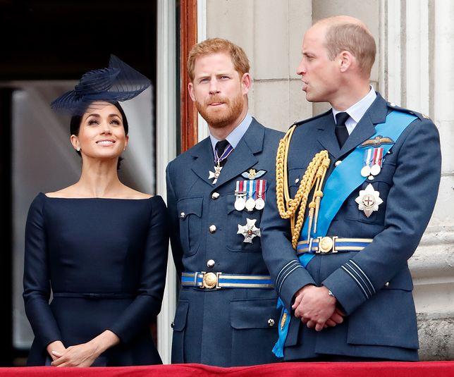 Książę William zwyzywał Meghan za jej plecami?