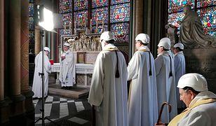Pożar katedry Notre-Dame w Paryżu wybuchł 15 kwietnia 2019 r.
