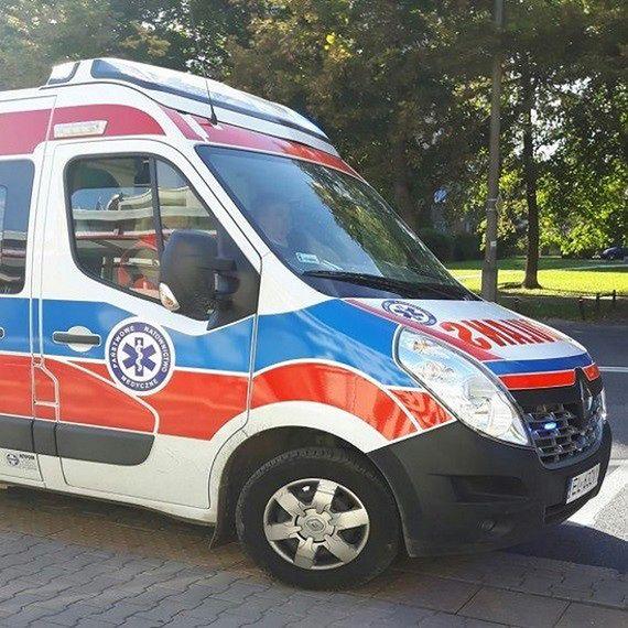 Zderzenie 3 pojazdów. Utrudniony wyjazd na Lublin