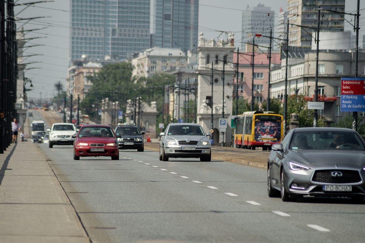 Warszawa. Fotoradary na moście Poniatowskiego już niebawem
