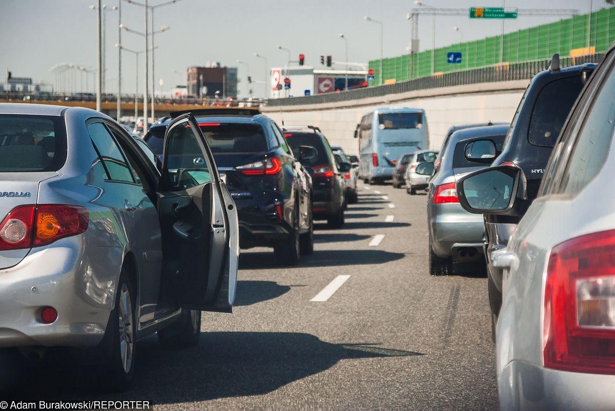 Wypadek na S8. Droga zablokowana