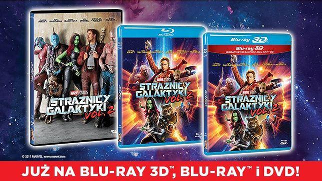 """Wybierz się na najbardziej kosmiczną przygodę roku. """"Strażnicy Galaktyki Vol. 2"""" już na Blu-ray 3D, Blu-ray i DVD"""