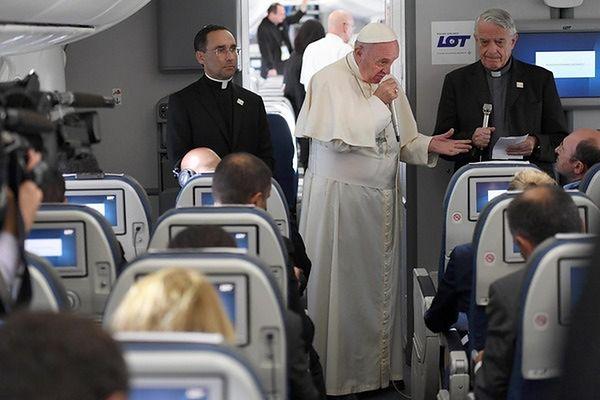 Papież zdradził wracając do Rzymu, co myśli o Polakach