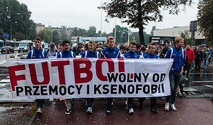 """Marsz """"O futbol wolny od przemocy"""""""