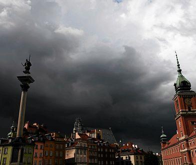 W piątek spodziewane jest gwałtowne załamanie pogody