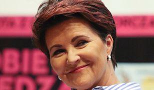 Jolanta Kwaśniewska lubi modne dodatki