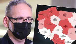 Delta już w Polsce. Tylko trzy regiony nie mają nowych zakażeń
