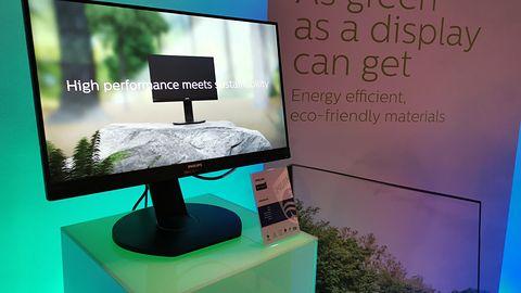 """Philips pokazał w Warszawie """"najbardziej zielony monitor świata"""" – z recyklingu"""
