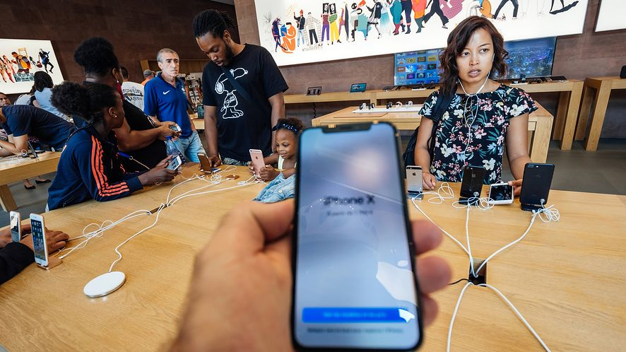 Chętnych na nowe iPhone'y nie zabraknie. (depositphotos)