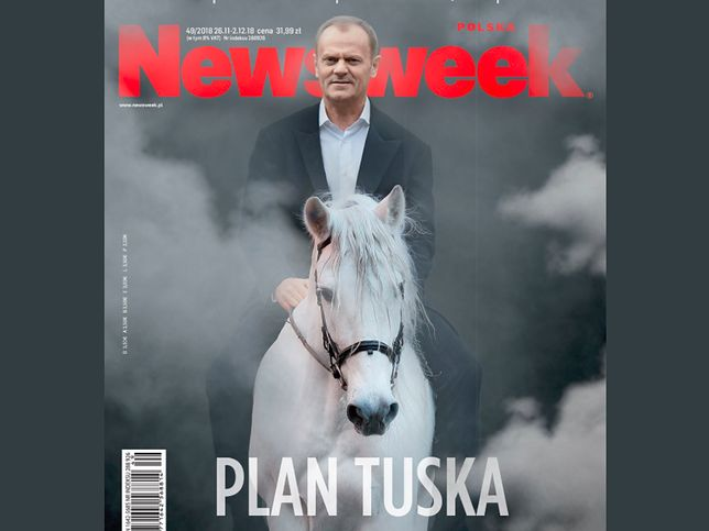 """Donald Tusk na okładce """"Newsweeka"""""""