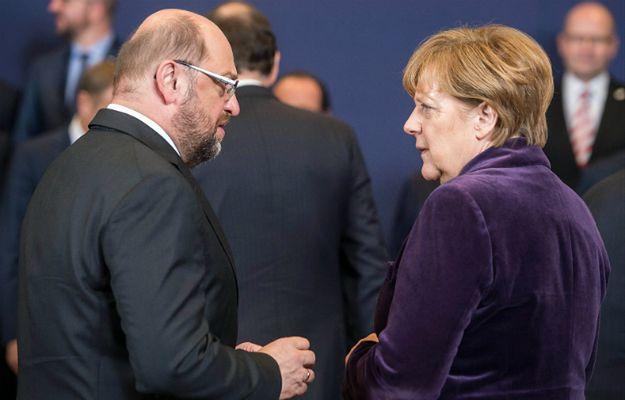 Sondaż przedwyborczy w Niemczech. Martin Schulz dorównuje Angeli Merkel