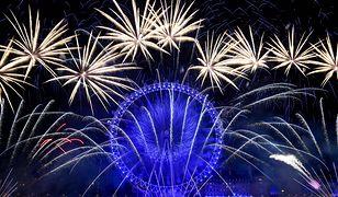 """Burza po """"politycznym"""" sylwestrze w Londynie. London Eye podświetlono w kolorach UE"""