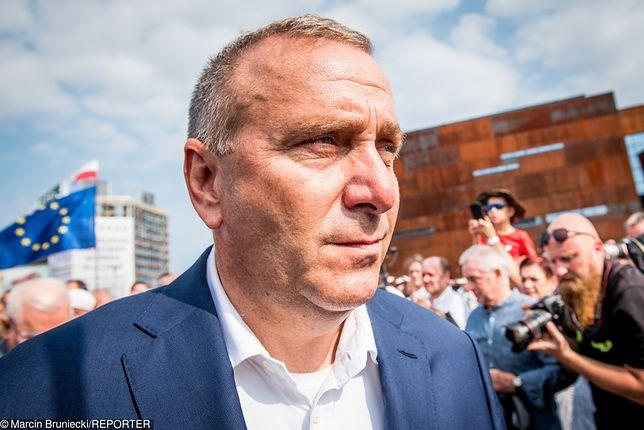 Wybory parlamentarne 2019. Grzegorz Schetyna, lider PO.