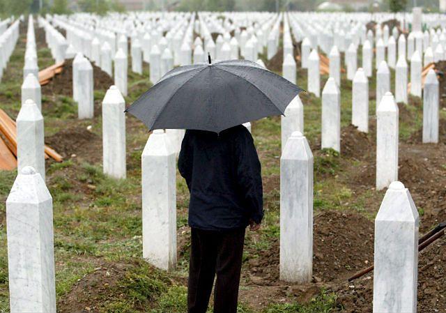 20. rocznica masakry w Srebrenicy