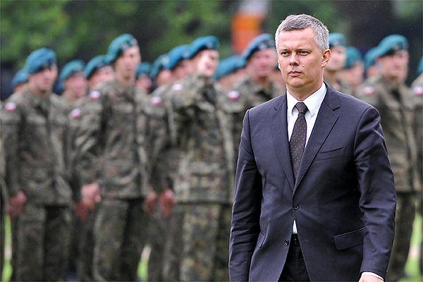 Szef MON Tomasz Siemoniak