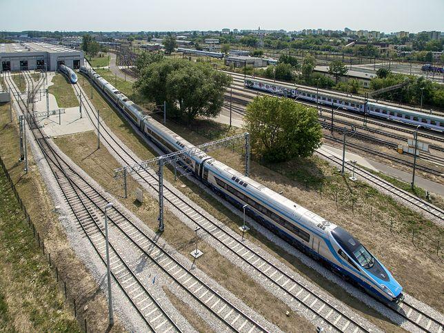 Warszawa. Mężczyzna wpadł pod rozpędzony pociąg Pendolino