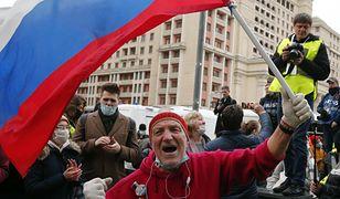 Rosja. Protesty w obronie Aleksieja Nawalnego