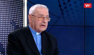 Biskup Tadeusz Pieronek o postulatach protestujących: Lepiej wiedzą, na co wydać 500 zł